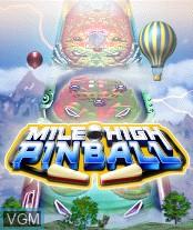 Image de l'ecran titre du jeu Mile High Pinball sur Nokia N-Gage