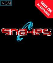 Image de l'ecran titre du jeu Snakes sur Nokia N-Gage