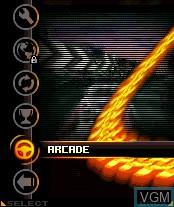 Image du menu du jeu Asphalt - Urban GT 2 sur Nokia N-Gage