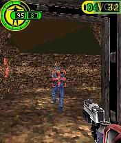 Image in-game du jeu Red Faction sur Nokia N-Gage