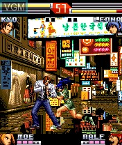Image in-game du jeu King of Fighters Extreme, The sur Nokia N-Gage
