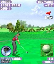 Image in-game du jeu Tiger Woods PGA Tour 2004 sur Nokia N-Gage