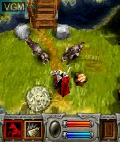 Image in-game du jeu Roots, The - Gates of Chaos sur Nokia N-Gage