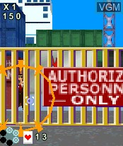 Image in-game du jeu Virtua Cop sur Nokia N-Gage
