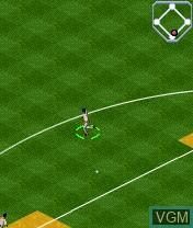 Image in-game du jeu MLB Slam! sur Nokia N-Gage
