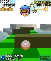 Image in-game du jeu Super Monkey Ball sur Nokia N-Gage