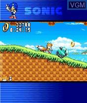 Image in-game du jeu Sonic N sur Nokia N-Gage