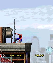 Image in-game du jeu Spider-Man 2 sur Nokia N-Gage