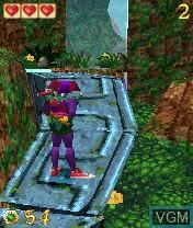 Image in-game du jeu Pandemonium! sur Nokia N-Gage