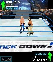Image in-game du jeu WWE Aftershock sur Nokia N-Gage