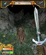 Image in-game du jeu Elder Scrolls Travels, The - Shadowkey sur Nokia N-Gage