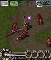 Image in-game du jeu Requiem of Hell sur Nokia N-Gage