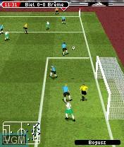 Image in-game du jeu FIFA Football 2005 sur Nokia N-Gage