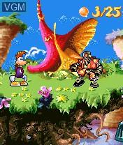 Image in-game du jeu Rayman 3 sur Nokia N-Gage