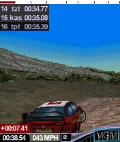 Image in-game du jeu Colin McRae Rally 2005 sur Nokia N-Gage