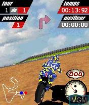 Image in-game du jeu MotoGP sur Nokia N-Gage