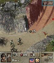 Image in-game du jeu Pathway to Glory sur Nokia N-Gage