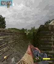 Image in-game du jeu Call of Duty sur Nokia N-Gage