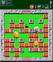 Image in-game du jeu Bomberman sur Nokia N-Gage