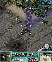 Image in-game du jeu Pathway to Glory - Ikusa Islands sur Nokia N-Gage