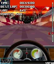 Image in-game du jeu Stunt Car Extreme sur Nokia N-Gage