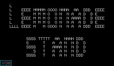 Image de l'ecran titre du jeu Lemonade Stand sur Nascom