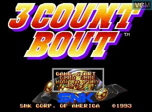 Image de l'ecran titre du jeu Fire Suplex sur SNK NeoGeo CD