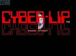 Image de l'ecran titre du jeu Cyber-Lip sur SNK NeoGeo CD