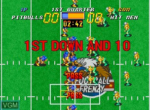 Image in-game du jeu Football Frenzy sur SNK NeoGeo CD
