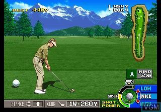 Image in-game du jeu Big Tournament Golf sur SNK NeoGeo CD