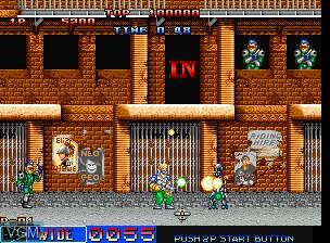 Image in-game du jeu Cyber-Lip sur SNK NeoGeo CD