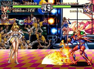 Image in-game du jeu Choujin Gakuen Gowcaizer sur SNK NeoGeo CD