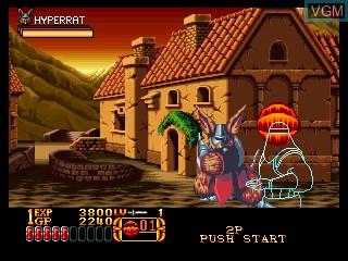 Image in-game du jeu Crossed Swords II sur SNK NeoGeo CD