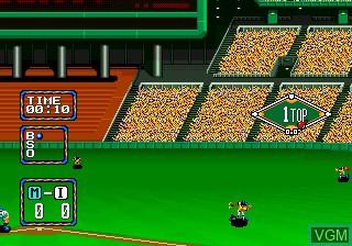 Image in-game du jeu Baseball Stars 2 sur SNK NeoGeo CD