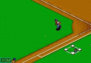 Image in-game du jeu Baseball Stars Professional sur SNK NeoGeo CD