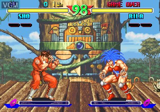 Image in-game du jeu Breakers sur SNK NeoGeo CD