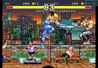 Image in-game du jeu Fighter's History Dynamite sur SNK NeoGeo CD