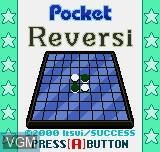 Image de l'ecran titre du jeu Pocket Reversi sur SNK NeoGeo Pocket