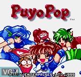 Image de l'ecran titre du jeu Puyo Pop sur SNK NeoGeo Pocket