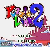Image de l'ecran titre du jeu Puzzle Link 2 sur SNK NeoGeo Pocket
