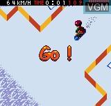Image du menu du jeu Cool Boarders Pocket sur SNK NeoGeo Pocket