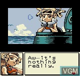 Image du menu du jeu Dive Alert - Rebecca Version sur SNK NeoGeo Pocket