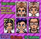 Image du menu du jeu Pocket Reversi sur SNK NeoGeo Pocket