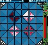 Image in-game du jeu Delta Warp sur SNK NeoGeo Pocket