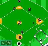 Image in-game du jeu Baseball Stars Color sur SNK NeoGeo Pocket