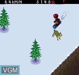 Image in-game du jeu Cool Boarders Pocket sur SNK NeoGeo Pocket