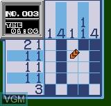 Image in-game du jeu Picture Puzzle sur SNK NeoGeo Pocket