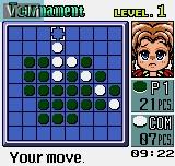 Image in-game du jeu Pocket Reversi sur SNK NeoGeo Pocket