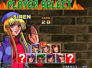Image du menu du jeu Bang Bead sur SNK NeoGeo