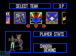 Image du menu du jeu Baseball Stars Professional sur SNK NeoGeo